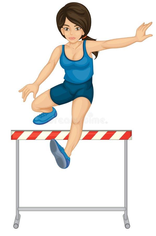 Obstáculos ilustração do vetor