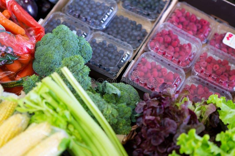 Obst und Gemüse stockfotografie