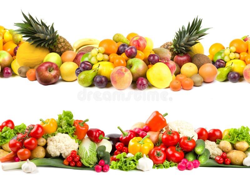 Obst- und Gemüse Beschaffenheiten stockbild