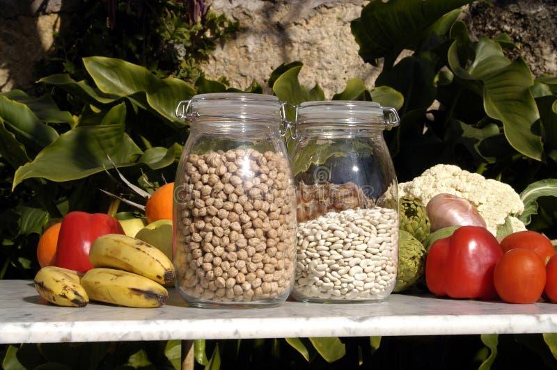 Obst und Gemüse in der Sonne, Lebensmittel stockfotografie