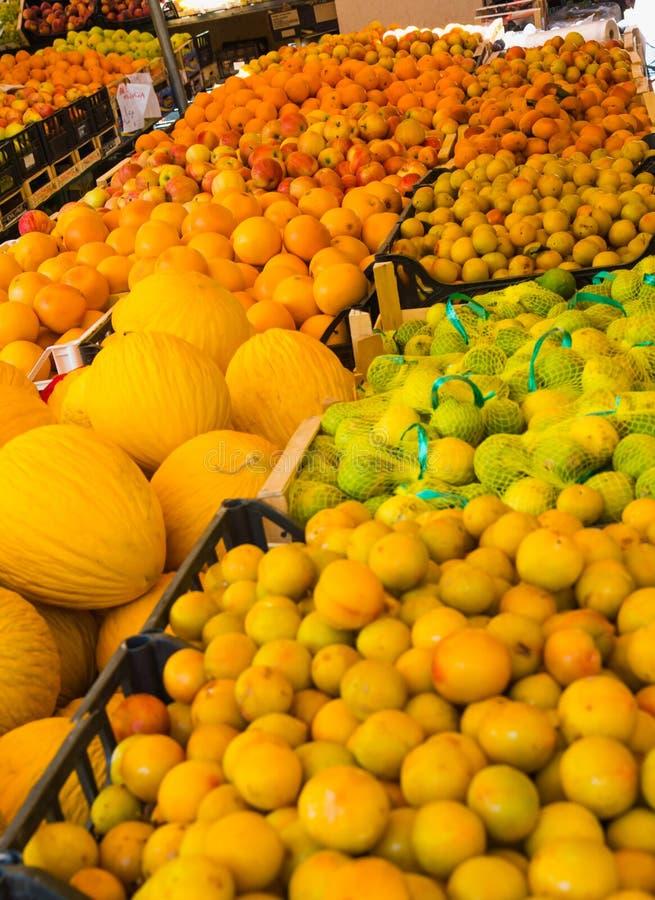 Obst und Gemüse haben Nutzen für die Gesundheit stockbilder