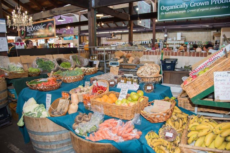 Obst- und GemüseKörbe lizenzfreies stockbild
