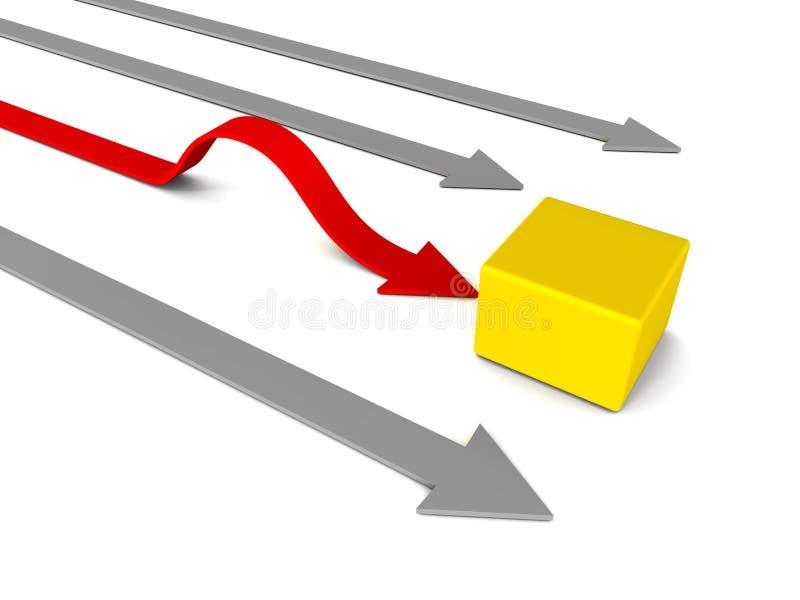 Download Obstacle stock illustration. Illustration of challenge - 28727929