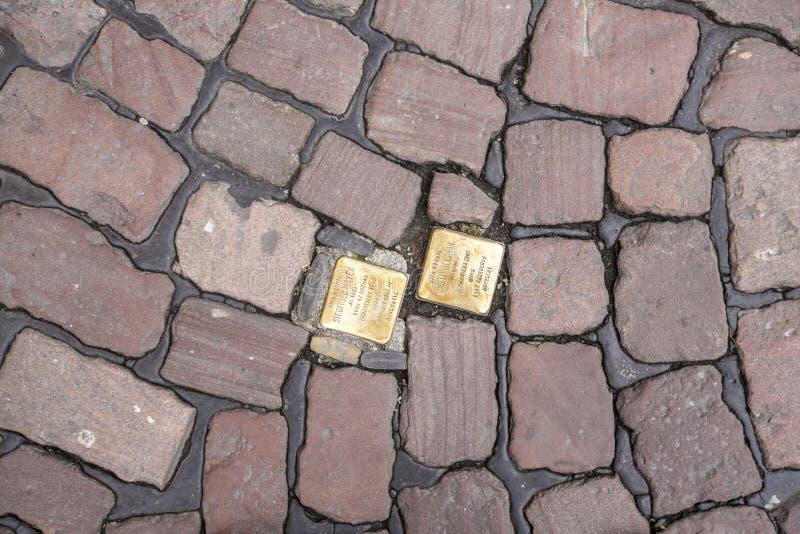 Obstacles à Fribourg photos libres de droits