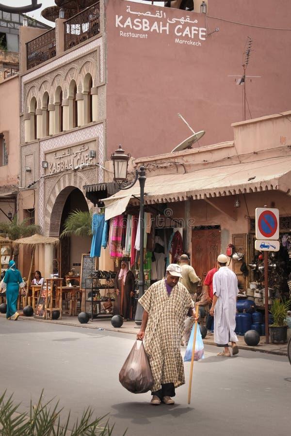 2008 obszarów Barcelona barri może gottic sceny Hiszpanii street marrakesh Maroko zdjęcie stock