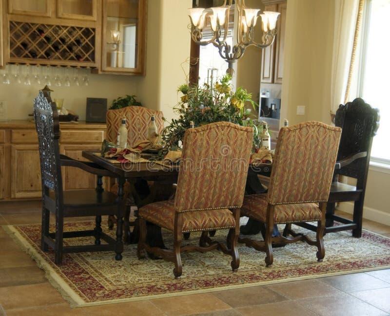 obszar elegancki diniing eleganckiego fotografia royalty free