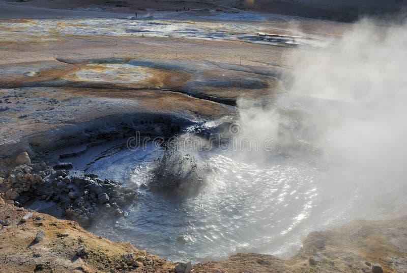 obszar geotermiczny obraz royalty free