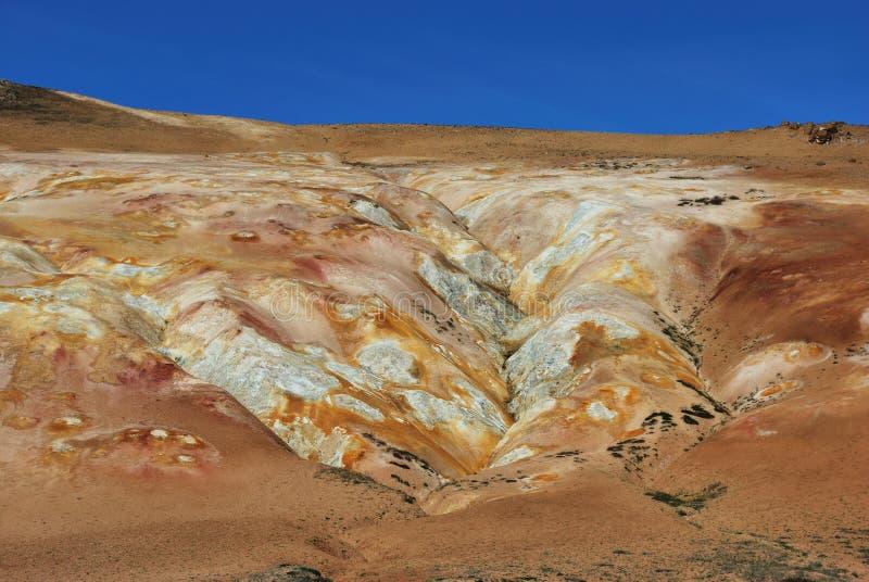 obszar geotermiczny zdjęcie royalty free