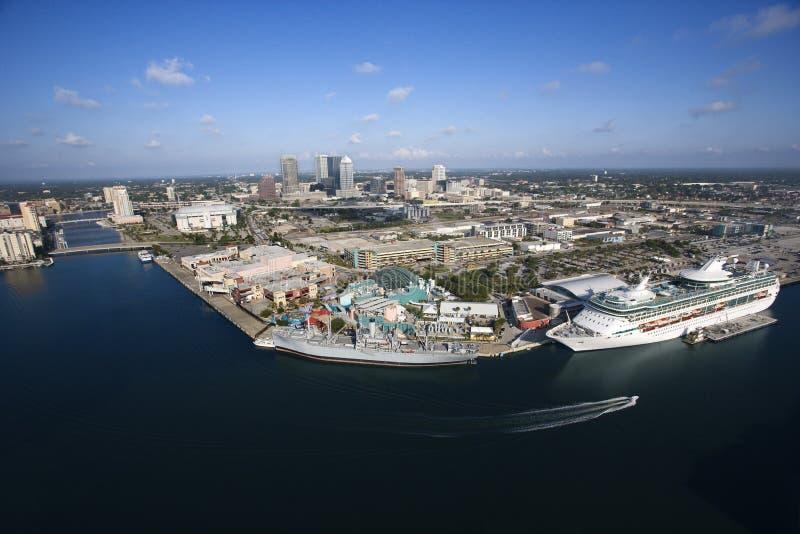 obszar Tampa bay obrazy royalty free