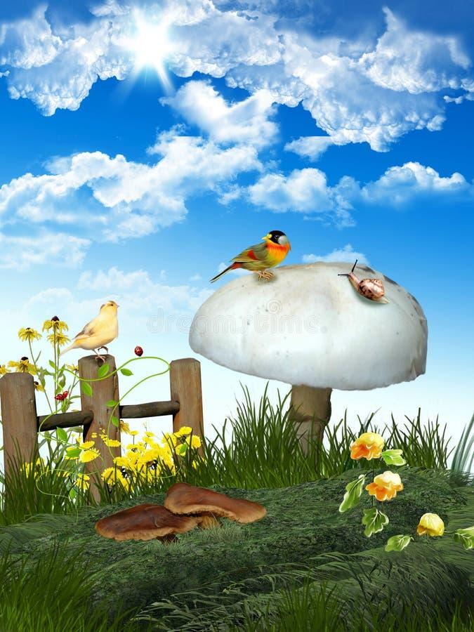 obszar trawiasty wiosna obrazy stock