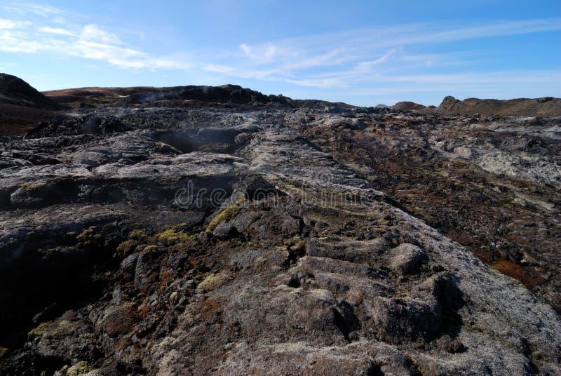 obszar wulkanicznego obrazy stock