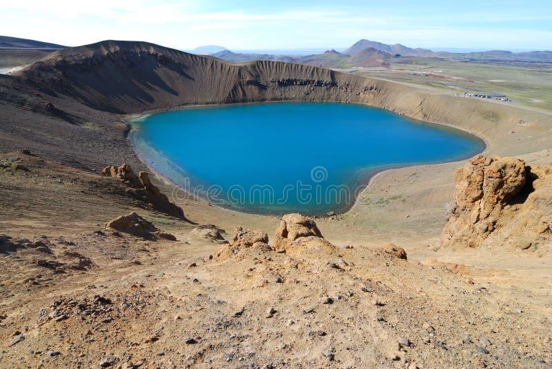 obszar wulkanicznego obraz royalty free