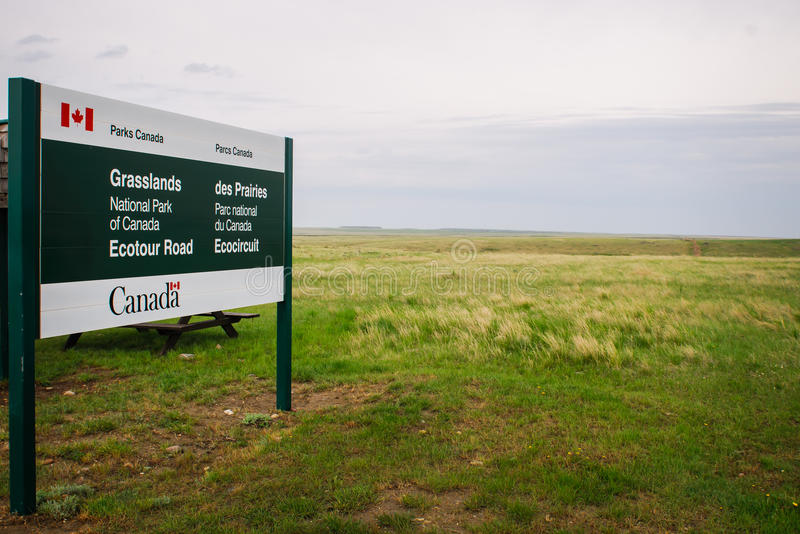 Obszaru trawiastego park narodowy fotografia stock