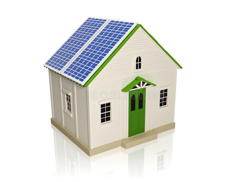 Download Obtaining Energy From Solar Stock Illustration - Image: 25944781