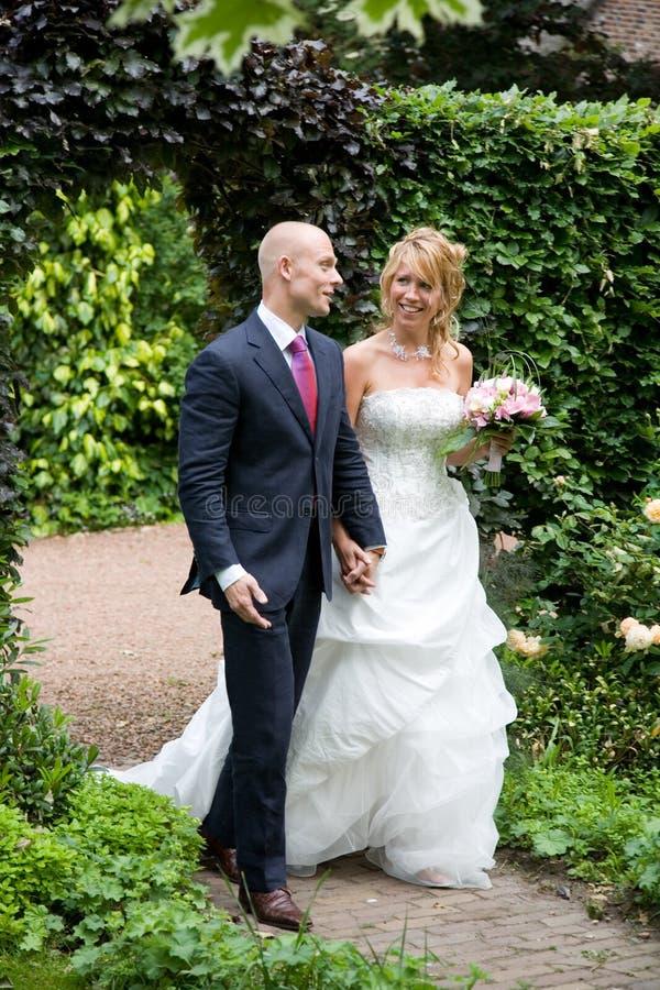 Obtenção casado fotos de stock