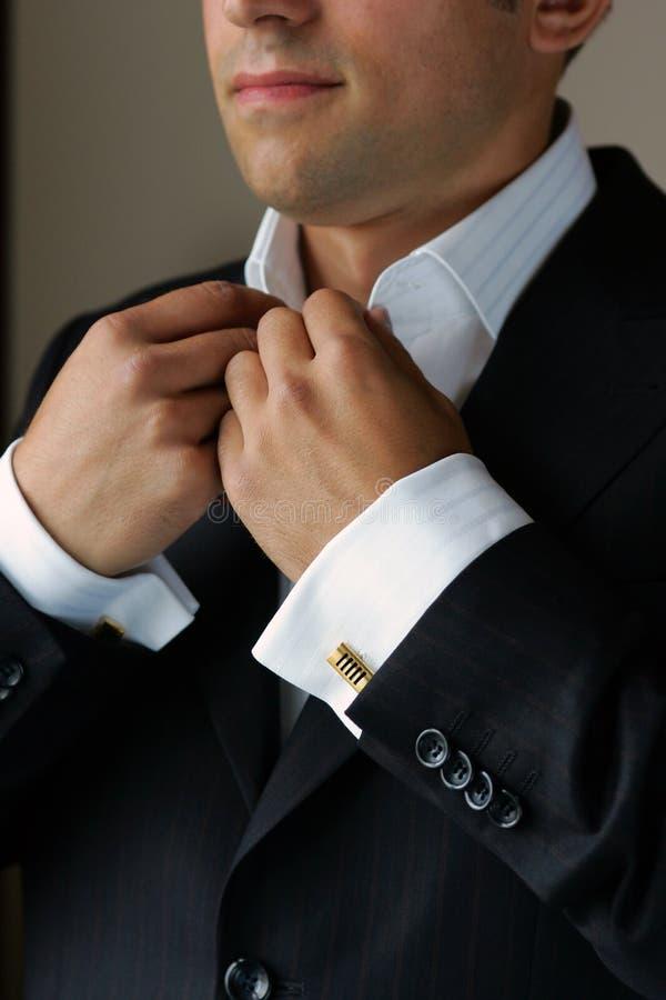 Obtenção vestido para o trabalho fotografia de stock royalty free