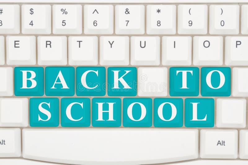 Obtention d'une éducation sur l'Internet photo stock
