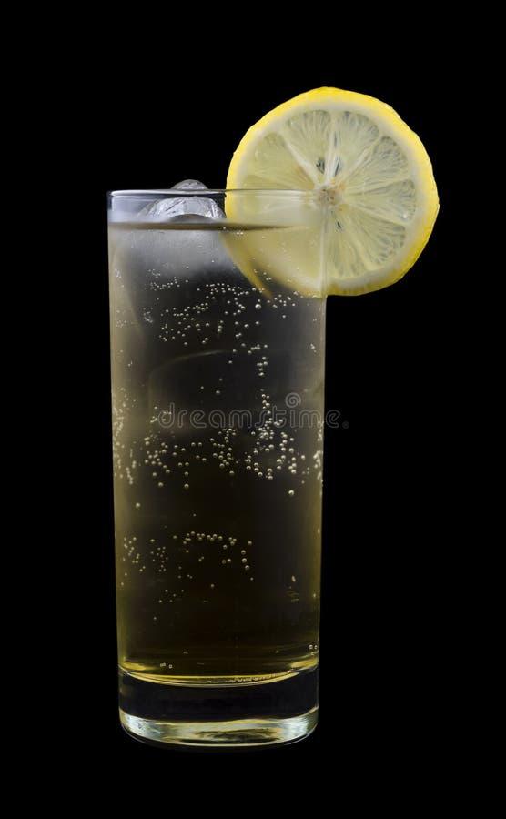 Obtention de la boisson photo stock