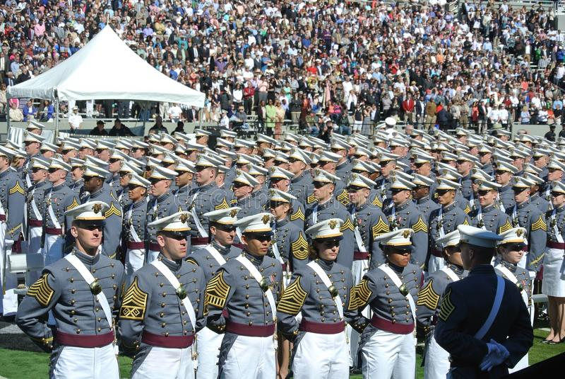 Obtention du diplôme 2015 de West Point photos stock