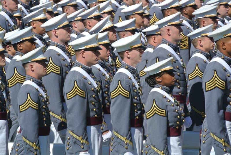 Obtention du diplôme 2015 de West Point image stock