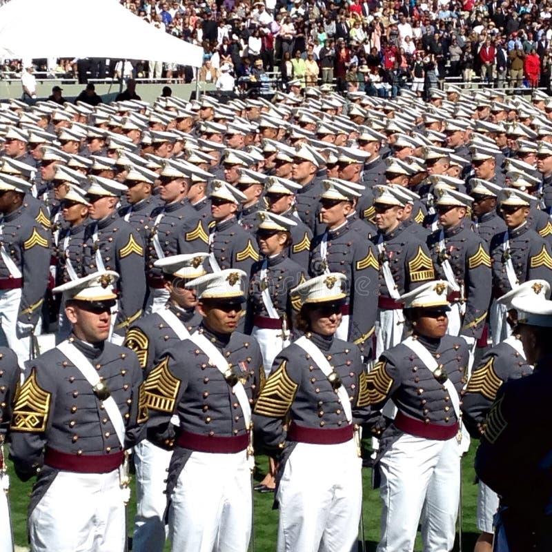 Obtention du diplôme 2015 de West Point photo libre de droits