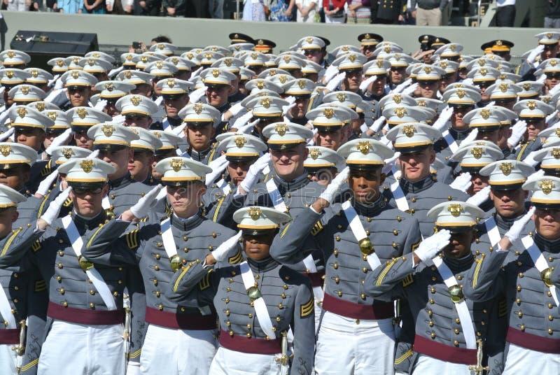 Obtention du diplôme 2015 de West Point images stock