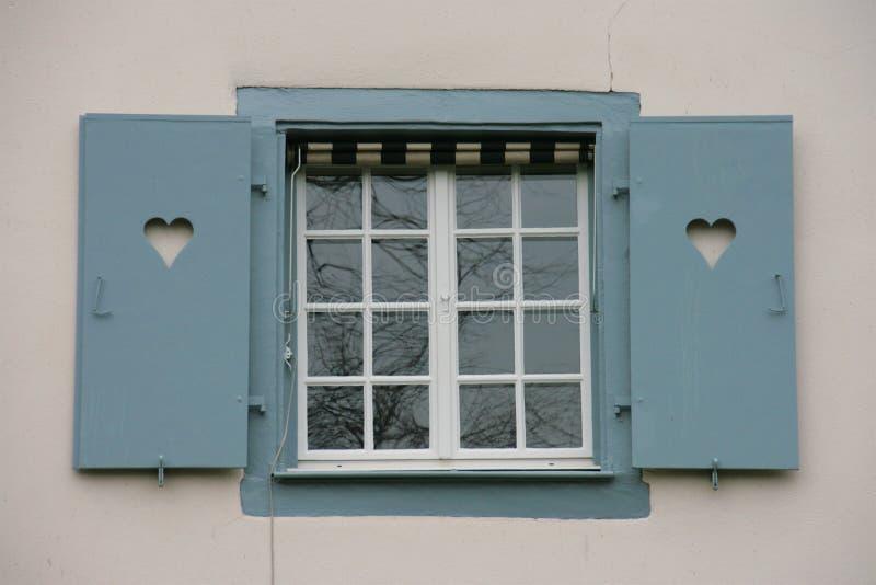 Obturador de la ventana fotografía de archivo libre de regalías