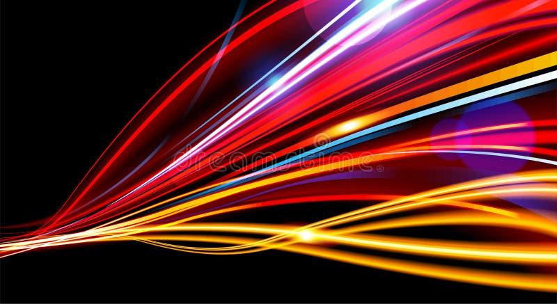 Obturador lento do sinal no vetor ilustração do vetor