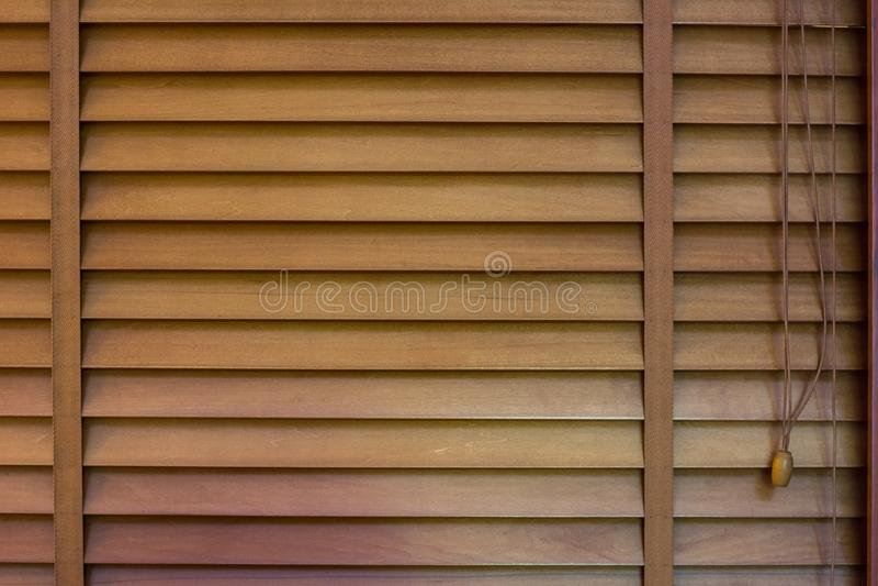Obturadores de madeira da janela, textura do jalousie fotos de stock royalty free