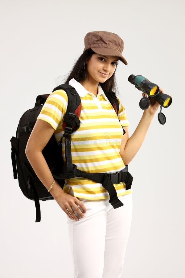 obuoczny żeński kapelusz zdjęcia stock