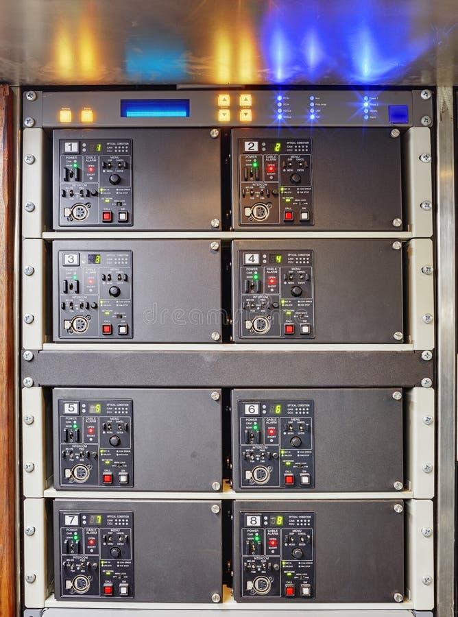 Obvan控制板机架 库存照片