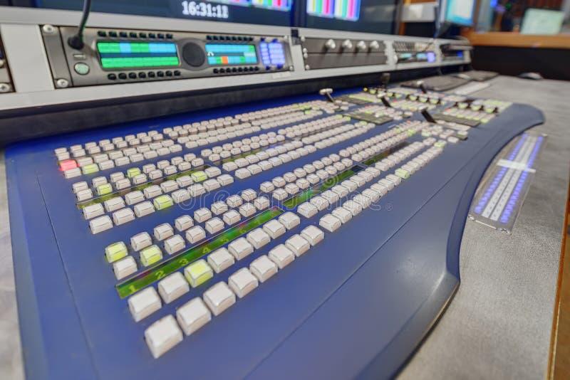 Obvan control panels racks royalty free stock images