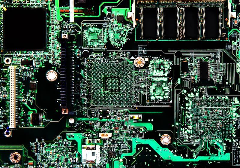 Obwód komputerowa deska zdjęcie royalty free