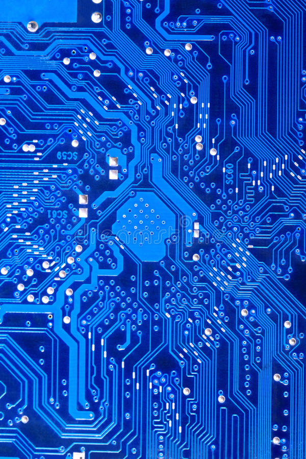 obwodu deskowy komputer zdjęcie royalty free