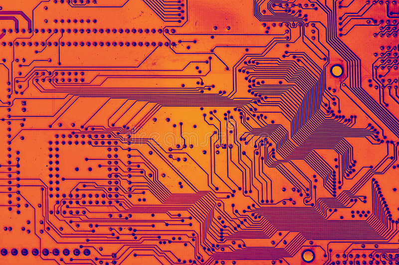 Obwodu deskowy komputer