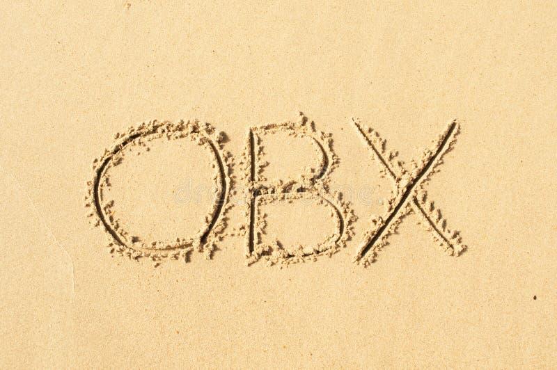 OBX 免版税库存照片