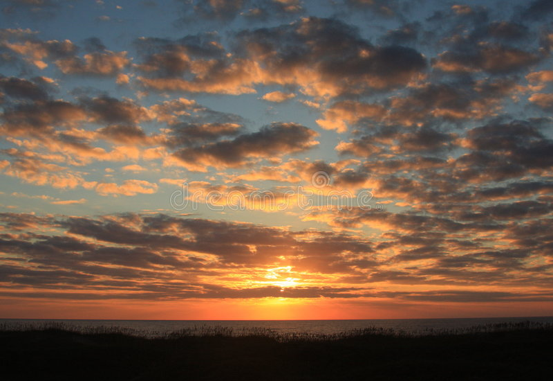 Download OBX Sunrise stock image. Image of carolina, sunset, atlanic - 6582225