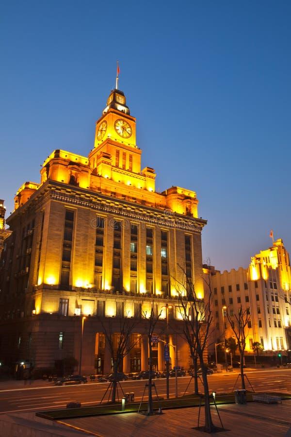 obyczajowy bund dom Shanghai obraz stock