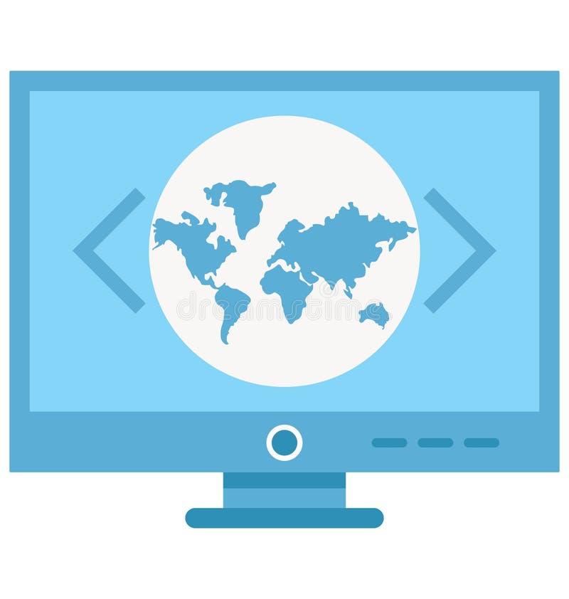 Obyczajowy cyfrowanie Odizolowywał Wektorową ikonę która może być łatwo redaguje lub modyfikuje ilustracja wektor