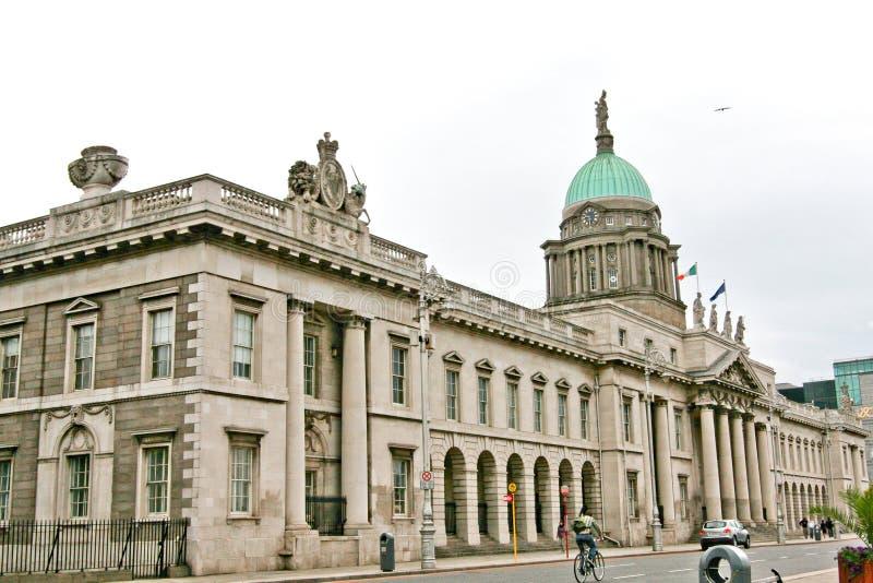 Obyczajowy dom Dublin, Irlandia fotografia stock