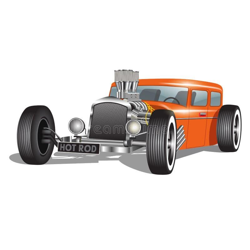 Obyczajowy samochód royalty ilustracja