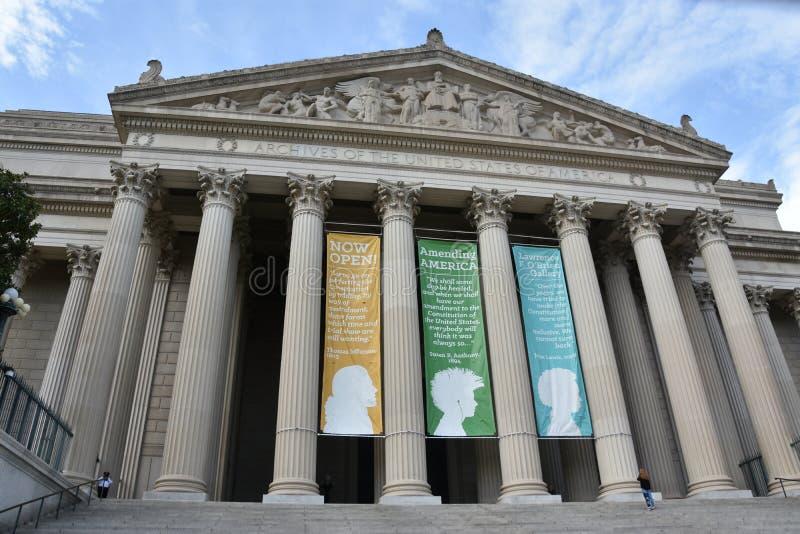 Obywatelów archiwa w Waszyngton, DC fotografia royalty free