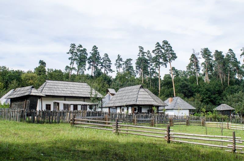 Obywatela Astra muzeum w Sibiu - Stara domowa wioska fotografia stock