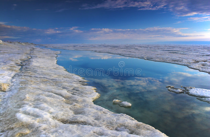 Océan arctique image libre de droits
