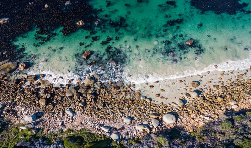 Océan bleu image libre de droits
