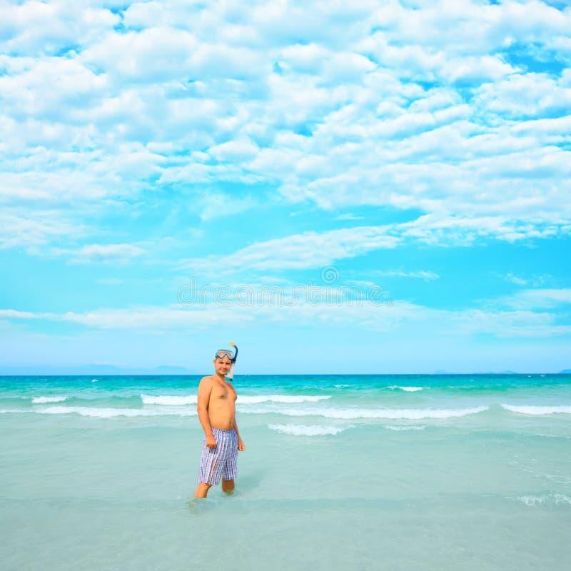 océan d'homme photo libre de droits
