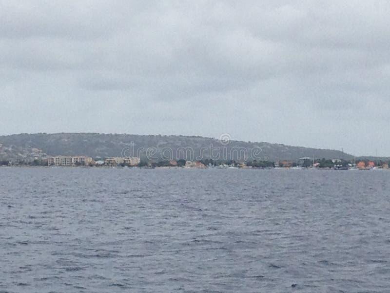 Océan de Bonaire photo libre de droits