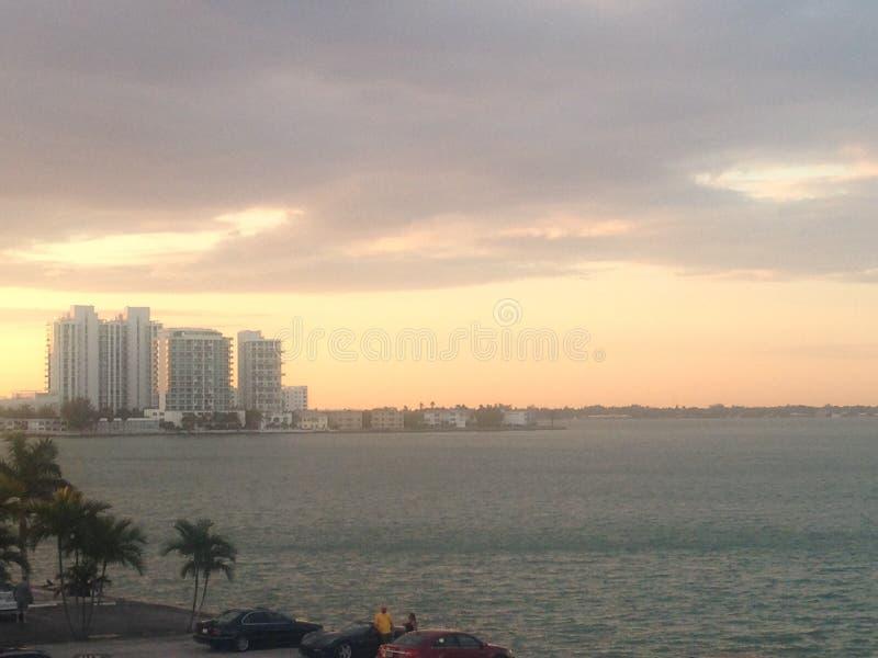 Océan de Miami Beach photo stock