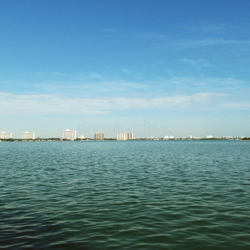 Océan de Miami Beach image stock