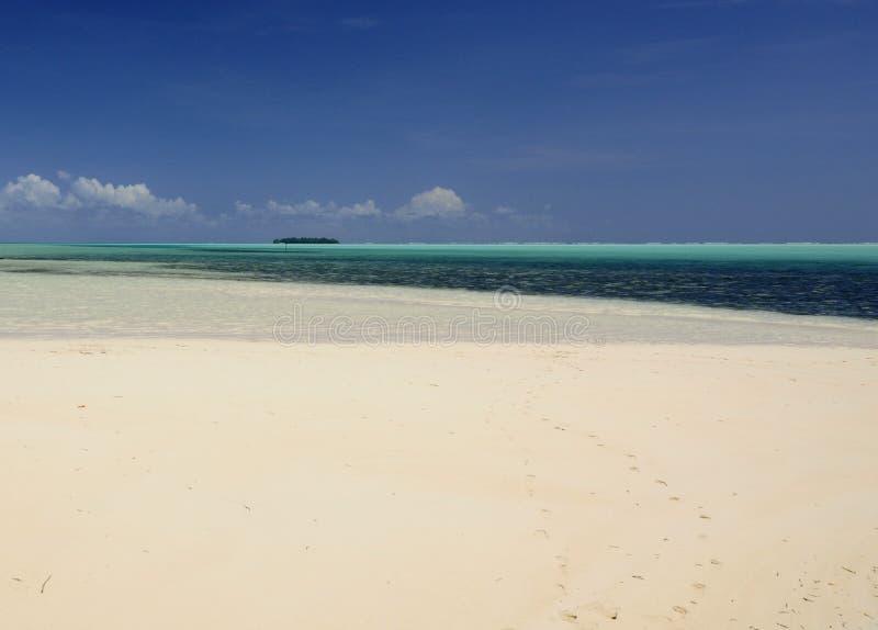 océan de plage tropical images libres de droits